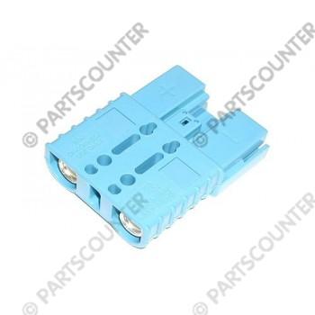 Akku Stecker  SBE160  160 Amp 48 V blau