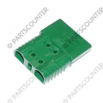 Akku Stecker  SBE160  160 Amp 72 V grün