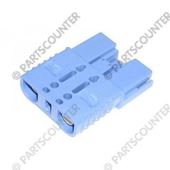 Akku Stecker  SBX175  175 Amp 48 V blau