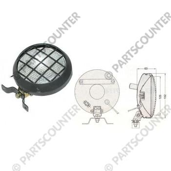 Arbeitsscheinwerfer Metall mit  Ein- / Ausschalter 24V