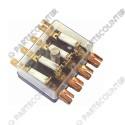 Sicherungschalter für   4x Sicherung DIN72581/1