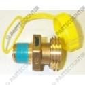 Gasschnellkupplung 3/4 NPT x 13/4-6 ACME