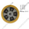 Lenkrolle PU Durchmesser 180 mm