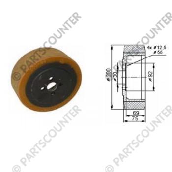 Antriebsrad TA Durchmesser 200 mm
