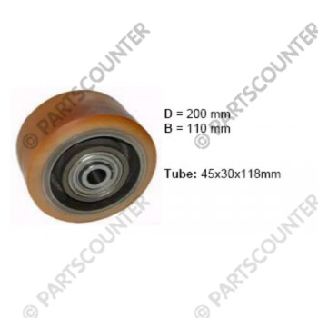 Lastenrad VU Durchmesser 200 mm