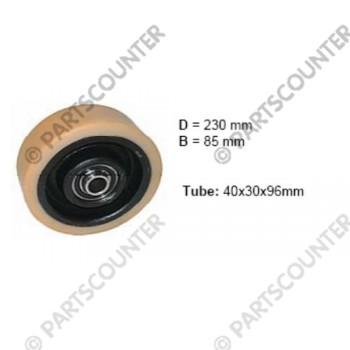 Lastenrad VU Durchmesser 230 mm