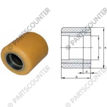 Laufrolle PU Durchmesser 85 mm