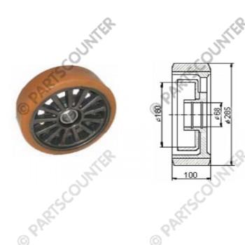 Lastenrad VU Durchmesser 285 mm