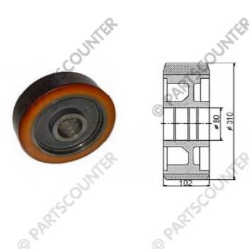 Lastenrad VU Durchmesser 310 mm