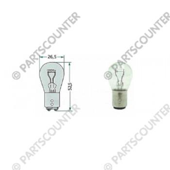 Kugellampe 12V-21-5W