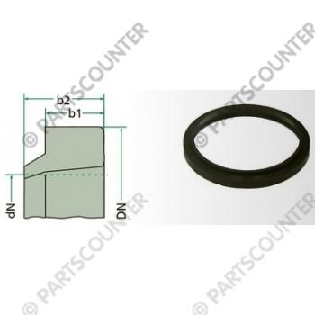 Abstreifer Kunststoff 32-40