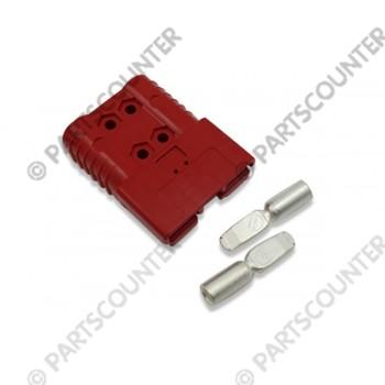Akku Stecker  SBE160  160 Amp 24 V  rot