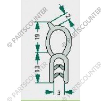 Dichtgummi  2-4mm
