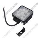 Arbeidsscheinwerfer LED 10-30V quadratisch